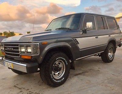 1988 Toyota Land Cruiser  toyota land cruiser