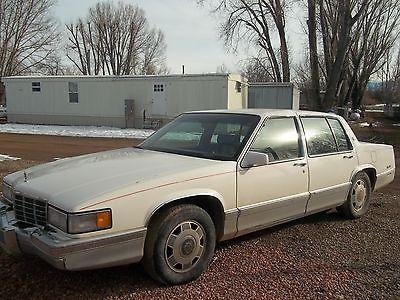1992 Cadillac DeVille  1992 cadillac deville