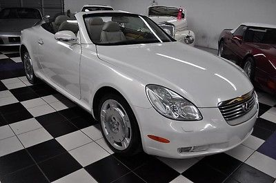 2002 Lexus SC WITH ONLY 54k MILES - PRISTINE CONDITION !! AMAZING CONDITION - LOW MILES - NICEST COLORS -