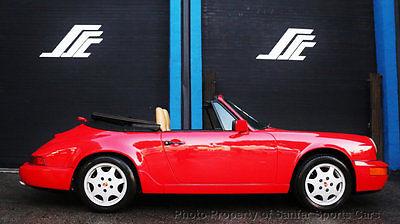 1990 Porsche 911 2dr Coupe 2 Cabriolet Tiptronic 1990 Porsche 964 Carrera Convertible Tiptronic Extended Term Financing Trades