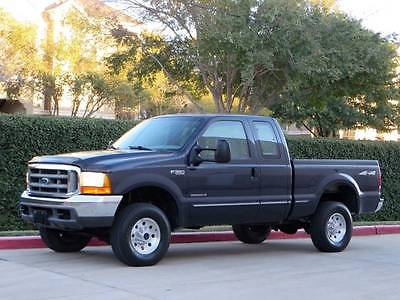 1999 Ford F-350 XLT 4dr 4WD Extended Cab SB 1-Owner ExCab ShortBed 7.3L Diesel 4x4 Rare F250 Clean 2000 NoRust! Low Miles!