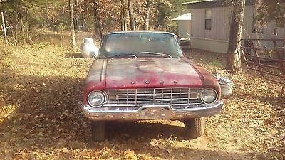 1960 Ford Ranchero  1960 Ford Ranchero project