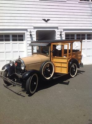 1929 Ford Model A Wood Station Wagon Ford Model A Woody Wagon