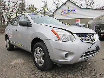 2011 Nissan Rogue S Krom Sport Utility 4-Door NISSAN ROGUE 2011 ALL WHEEL DRIVE REPAIRABLE REBUILDABLE SALVAGE