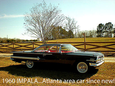 1960 Chevrolet Impala TUNNING 1960 CHEVROLET IMPALA BUBBLE-TOP ATLANTA CAR SINCE NEW - SPECIAL OFFER