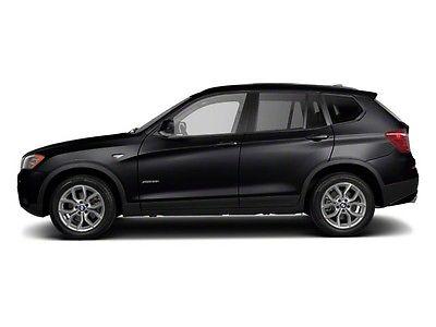 2013 BMW X3 xDrive28i xDrive28i 4 dr SUV Automatic Gasoline 2.0L I4 DOHC 16V BLACK