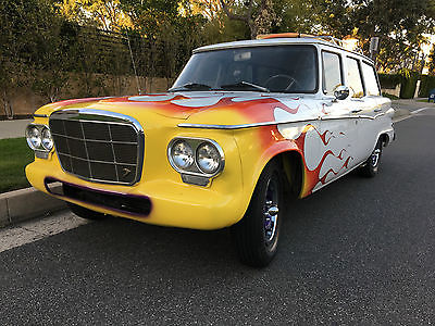 1962 Studebaker Lark Wagon Surf Wagon AWESOME Studebaker Surf Wagon V8 Hot Rod Restomod Classic  Excellent TRADE ?