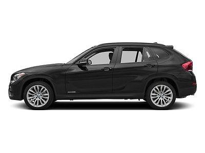2015 BMW X1 sDrive28i sDrive28i 4 dr Automatic Gasoline 2.0L 4 Cyl BLACK