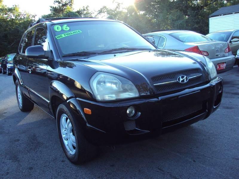 2006 Hyundai Tucson GLS 4dr SUV