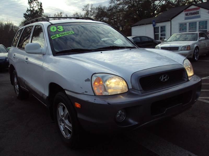 2003 Hyundai Santa Fe GLS 4dr SUV
