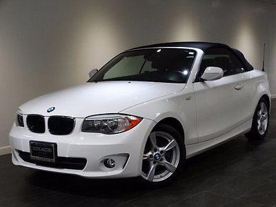 2013 BMW 1-Series 128i 2013 BMW 128i CONVERTIBLE HEATED-SEATS BLK-SOFT-TOP HI-FI SOUND WARANTY MSRP$39k
