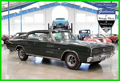 1967 Dodge Charger  1967 Charger 426 Hemi Numbers Matching Correct Recent Rotisserie Restoration 67