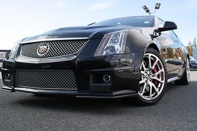 2014 Cadillac CTS BASE 2014 Cadillac CTS-V Coupe BASE Black 2dr Car Gas V8 6.2L/376 Automatic 23,633 Mi