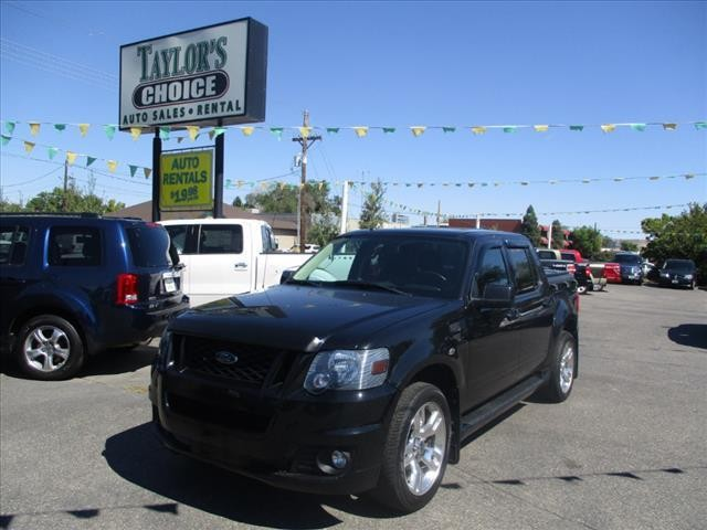 2010 Ford Explorer Sport Trac Limited AWD 4dr Crew Cab