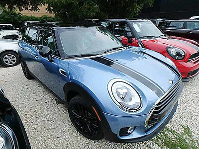2017 Mini Clubman Cooper 4 Door Cooper 4 Door New Sedan Automatic Gasoline 1.5L 3 Cyl Digital Blue Metallic