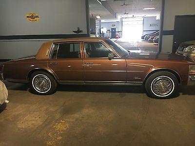 1978 Cadillac Seville 4 door 78 Seville Unique Burnt Rust Color
