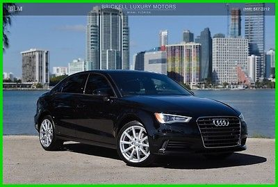 2016 Audi A3 1.8T Premium 2016 1.8T Premium Used Turbo 1.8L I4 16V Automatic FrontTrak Sedan Moonroof