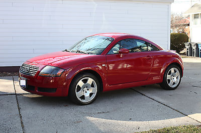 2002 Audi TT  Audi TT (225hp) Quattro, Red exterior with Black Leather interior,