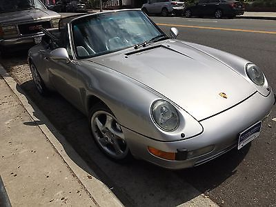 1998 Porsche 911 1998 Porsche 911 C4 Cabriolet - Low Miles **Air Cooled 993**