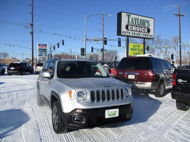 2016 Jeep Renegade Limited 4x4 4dr SUV