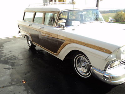 1957 Other Makes COUNTRY SQUIRE 9 PASS. WAGON  RARE 1957 FORD COUNTRY SQUIRE 9 PASS WAGON, THUNDERBIRD ENGINE
