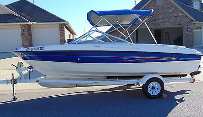2006 BAYLINER DISCOVERY 185 BOWRIDER W/MERCRUISER 3.0LT 135HP, LAKE READY!!!