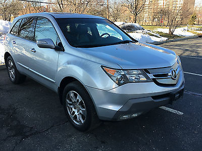 2007 Acura MDX Base Sport Utility 4-Door 2007 Acura MDX Technology Package