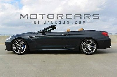2014 BMW M6 Convertible 560hp + CPO warranty 14 M6 CPO warranty loaded Executive Bang Olufsen Driver Assistance 2015 13 16