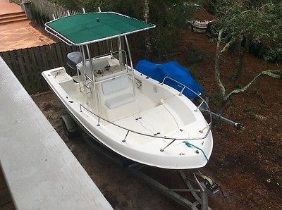 1997 19.5 Center console Cobia LX boat