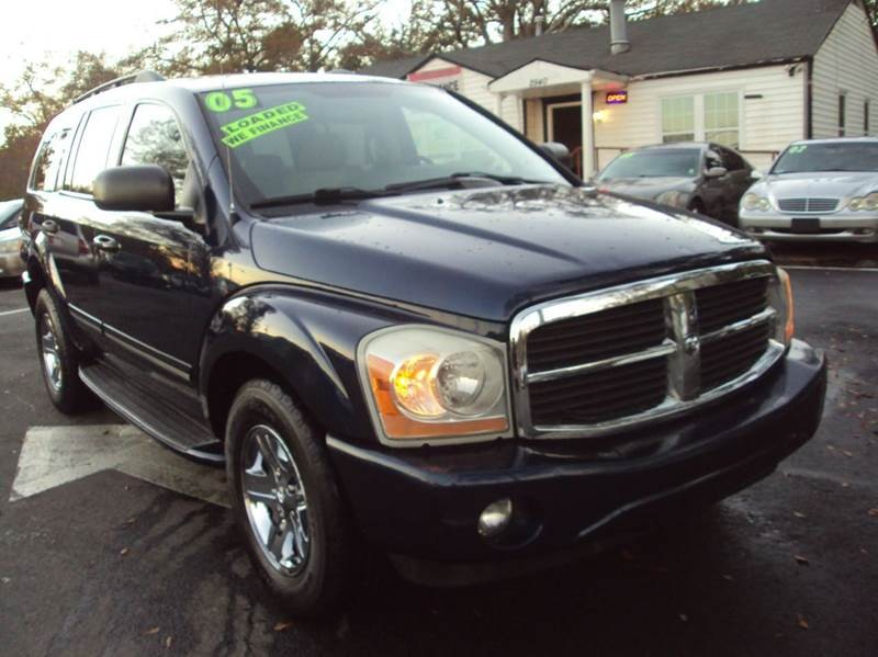 2005 dodge durango limited cars for sale. Black Bedroom Furniture Sets. Home Design Ideas