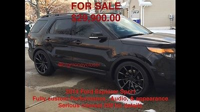 2014 Ford Explorer Sport Custom 2014 Ford Explorer Sport