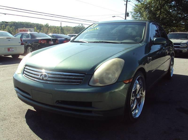 2003 Infiniti G35 Base Luxury 4dr Sedan w/Leather