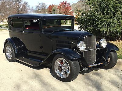 1930 Ford Model A  1930 Ford Street Rod Steel Body Model A Big Dollar Custom AC PW Power discbrakes