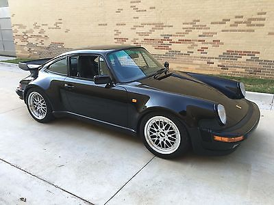 1985 Porsche 911 Turbo 1985 Porsche 911 Turbo 930 Black on Black - Gorgeous Example