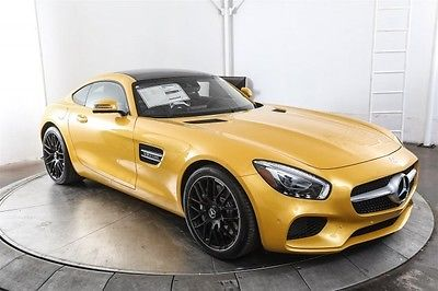 2017 Mercedes-Benz AMG-« GT Base 2017 Mercedes-Benz AMG-« GT Base 100 Miles AMG Solarbeam Yellow 2D Coupe V8 7-Sp