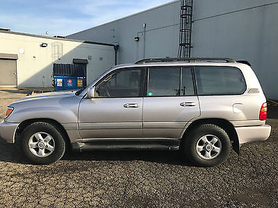 1999 Toyota Land Cruiser Base Sport Utility 4-Door 1999 Toyota Land Cruiser Base Sport Utility 4-Door 4.7L