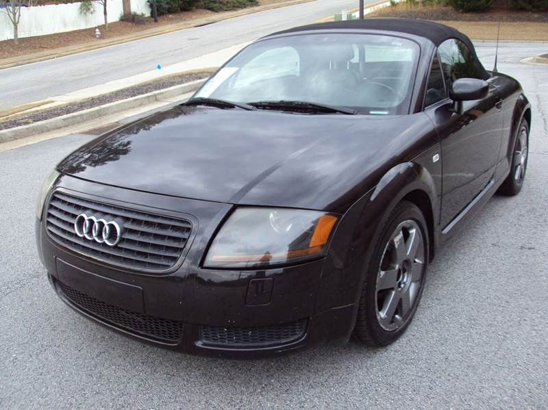 2001 Audi TT 180hp 2dr Roadster