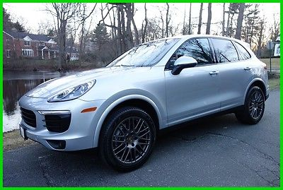 2017 Porsche Cayenne 2017 Used 3.6L V6 24V Automatic AWD SUV Premium Moonroof