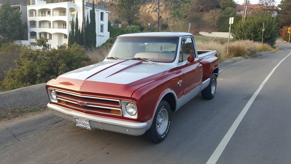 1967 Chevrolet C-10 1967 Chevrolet/Chevy C-10 Custom Fender Bed! NEW MOTOR!
