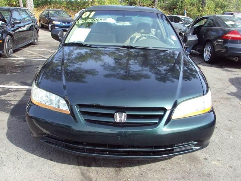 2001 Honda Accord Value 4dr Sedan