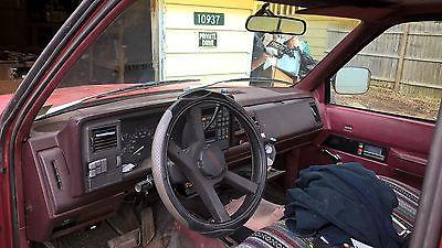 1993 Chevrolet C/K Pickup 1500 black 1993 Chevrolet Cheyenne 4wd,