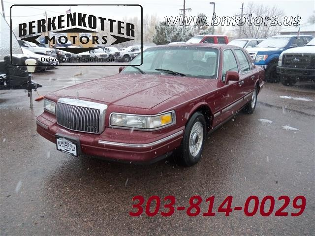 1997 lincoln town car cars for sale 1997 lincoln town car executive publicscrutiny Gallery