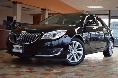 2015 Buick Regal Turbo 2015 Buick Regal Turbo 23834 Miles Black Onyx 4D Sedan 2.0L 4-Cylinder DGI DOHC