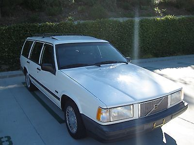 1992 Volvo 740 WAGON VOLVO 740 WAGON 7 SEATS NON TURBO 96k! California CAR! 1 owner!