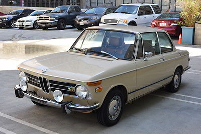 1973 BMW 2002 Base Sedan 2-Door 1973 BMW 2002 2dr Sedan 4-cyl. 1990cc/100hp 1bbl