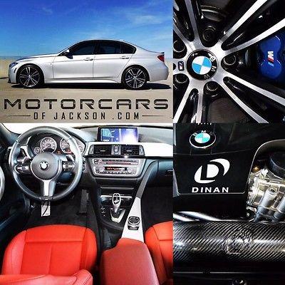 2015 BMW 3-Series 335i M Sport Performance Dinan Sedan 15 BMW 335i Dinan M Performance MSport Shadowline Tech Navigation M3 2016 328i