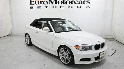 2013 BMW 1-Series 135i bmw 1 series 135i 135 i convertible cab m sport navi 11 12 13 14 15 white used