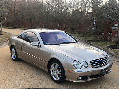 2003 Mercedes-Benz CL-Class 69k low mile free shipping warranty 2 owner clean cheap luxury cl500 v8
