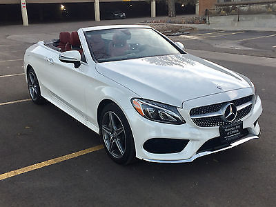 2017 Mercedes-Benz C-Class Beautiful 2017 Diamond White Convertible