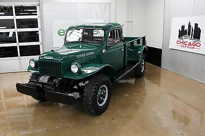 1952 Dodge Power Wagon -- 1952 Dodge Power Wagon Fully Restored